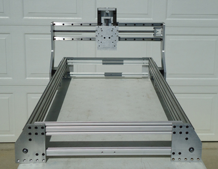 Cnc Plasma Router Kits Mill 4x4 Ball Screw Rails Carriages